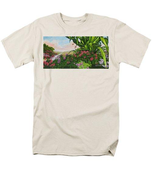 Flower Garden Vii Men's T-Shirt  (Regular Fit) by Michael Frank