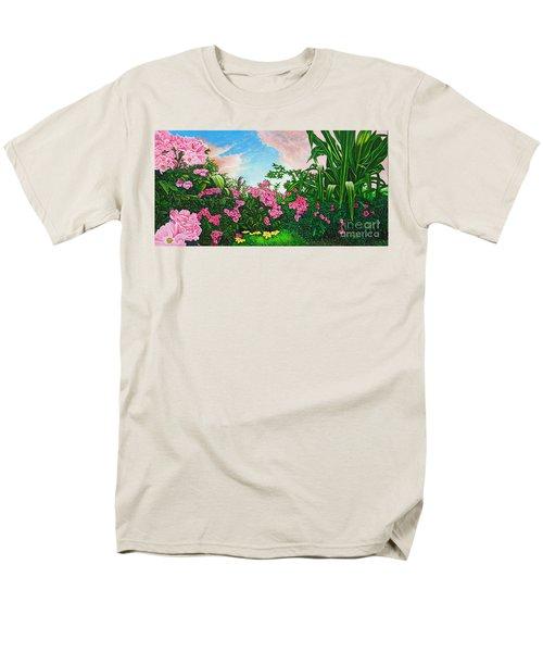 Flower Garden Xi Men's T-Shirt  (Regular Fit) by Michael Frank