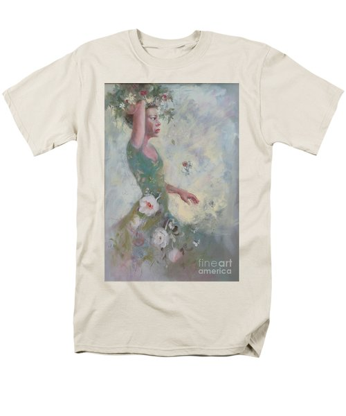 Flower Vender Men's T-Shirt  (Regular Fit) by Gertrude Palmer
