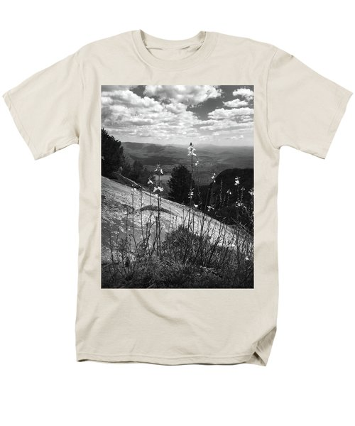Flowers At The Top Of Table Rock Trail Men's T-Shirt  (Regular Fit) by Kelly Hazel