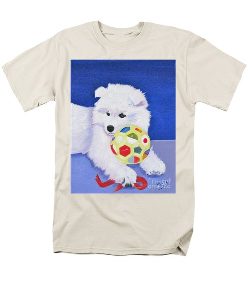 Fluffy's Portrait Men's T-Shirt  (Regular Fit) by Phyllis Kaltenbach