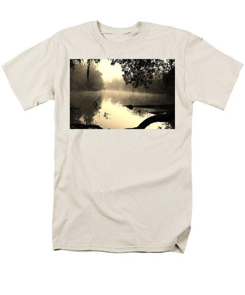 Fog And Light In Sepia Men's T-Shirt  (Regular Fit) by Warren Thompson