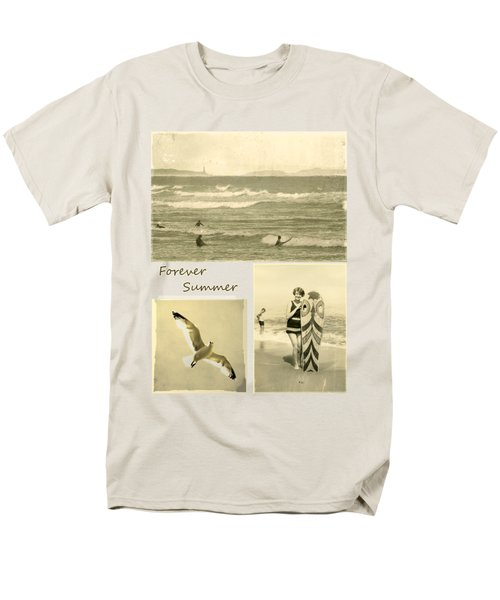 Men's T-Shirt  (Regular Fit) featuring the photograph Forever Summer 3 by Linda Lees
