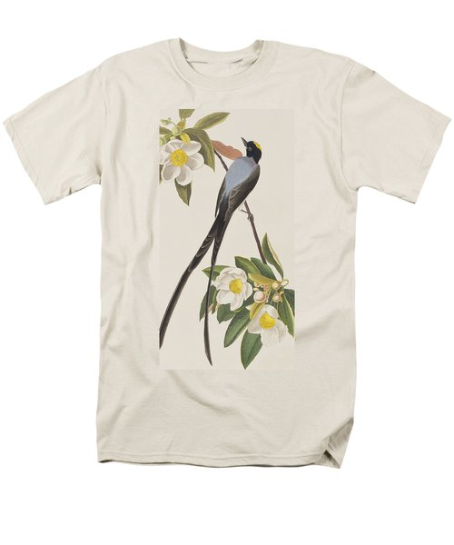 Fork-tailed Flycatcher  Men's T-Shirt  (Regular Fit) by John James Audubon