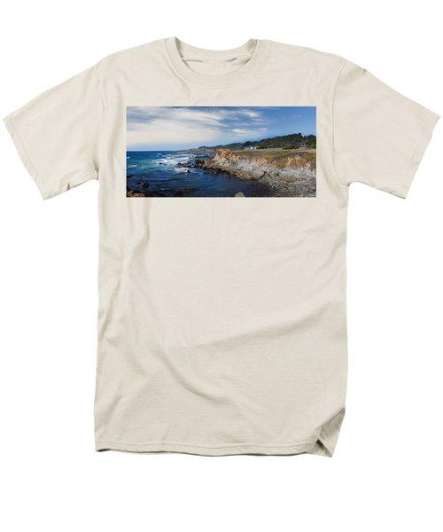 Fort Bragg Mendocino County California Men's T-Shirt  (Regular Fit) by Wernher Krutein