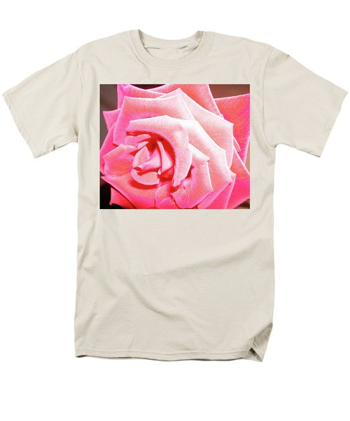 Men's T-Shirt  (Regular Fit) featuring the photograph Fragrant Rose by Marie Hicks