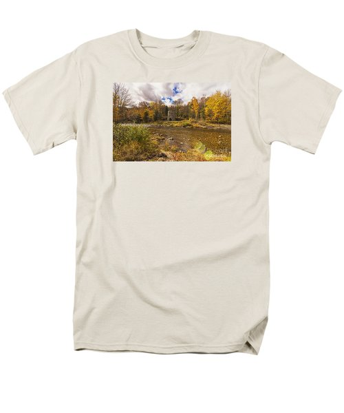 Men's T-Shirt  (Regular Fit) featuring the photograph Franconia Iron Works by Anthony Baatz