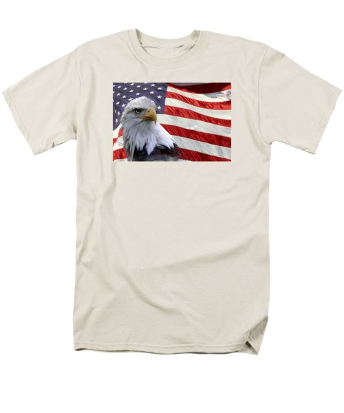 Freedom Men's T-Shirt  (Regular Fit) by Ann Bridges