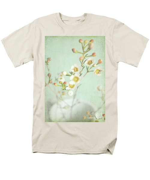 Freesia Blossom Men's T-Shirt  (Regular Fit) by Lyn Randle