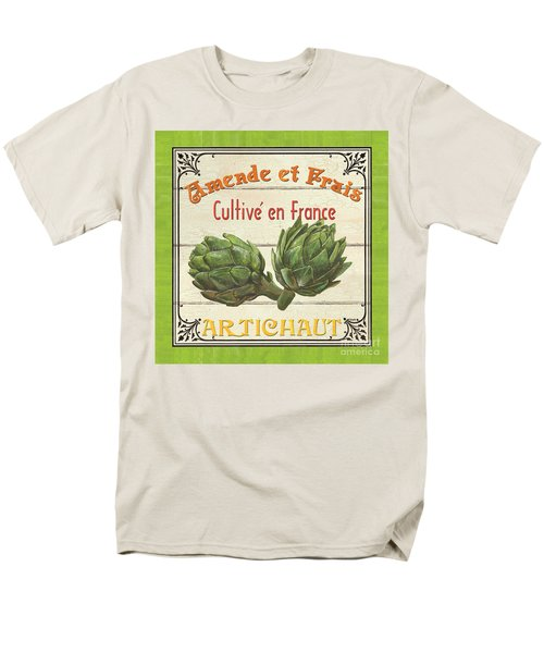 French Vegetable Sign 2 Men's T-Shirt  (Regular Fit) by Debbie DeWitt