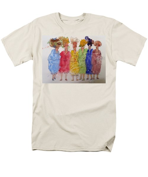 The Crazy Hat Society Men's T-Shirt  (Regular Fit) by Marilyn Jacobson