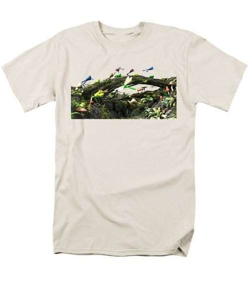 Frog Glen Men's T-Shirt  (Regular Fit) by Methune Hively