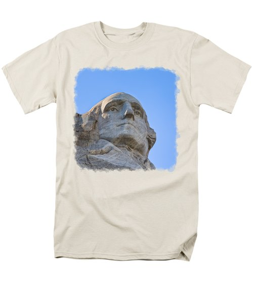 George Washington 3 Men's T-Shirt  (Regular Fit) by John M Bailey