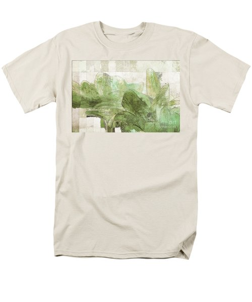 Men's T-Shirt  (Regular Fit) featuring the digital art Gerberie - 30gr by Variance Collections