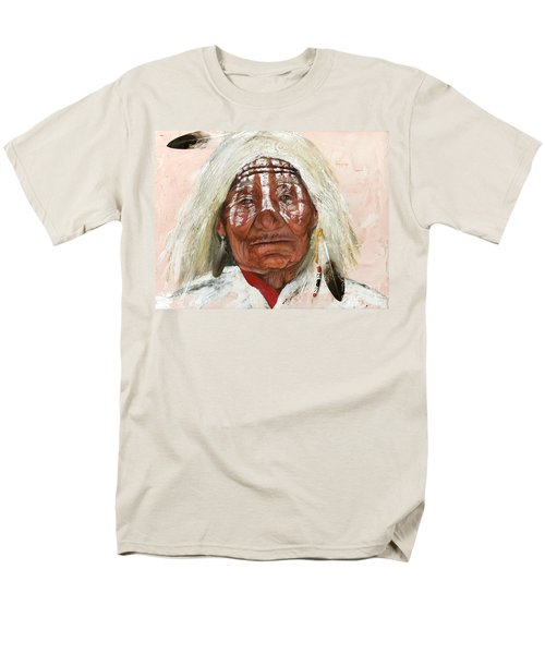 Ghost Shaman Men's T-Shirt  (Regular Fit) by J W Baker