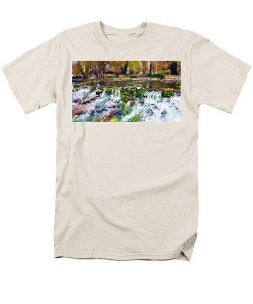 Giant Springs 1 Men's T-Shirt  (Regular Fit) by Susan Kinney