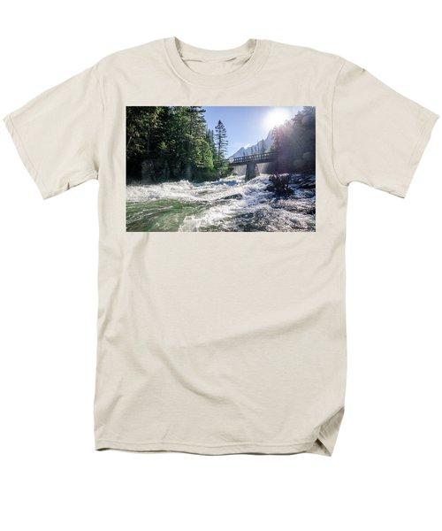 Glacier National Park Beauty Men's T-Shirt  (Regular Fit)