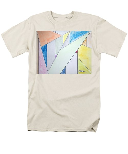 Glass-scrapers Men's T-Shirt  (Regular Fit) by J R Seymour