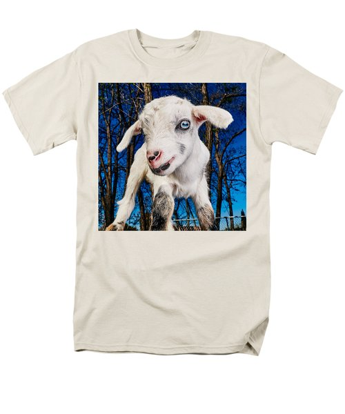 Goat High Fashion Runway Men's T-Shirt  (Regular Fit) by TC Morgan