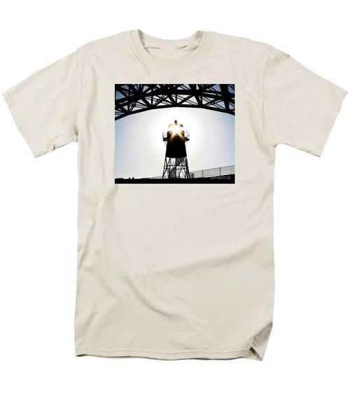 Golden Gate Above Fort Point Men's T-Shirt  (Regular Fit) by John King