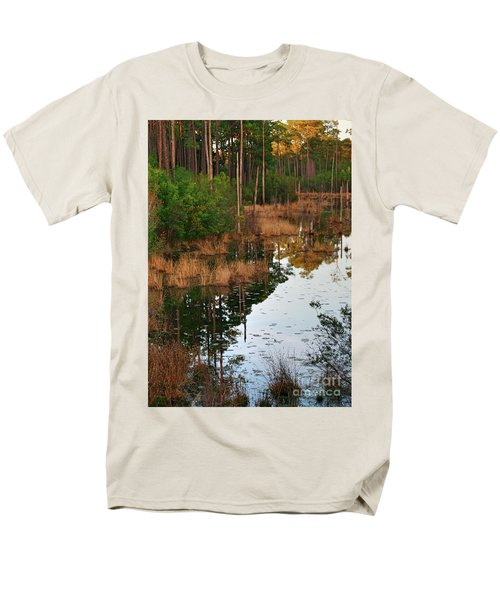 Golden Pond Men's T-Shirt  (Regular Fit) by Lori Mellen-Pagliaro