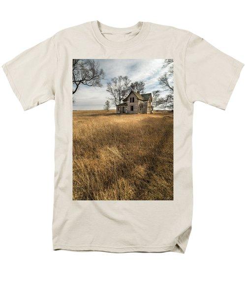 Golden Prairie  Men's T-Shirt  (Regular Fit) by Aaron J Groen
