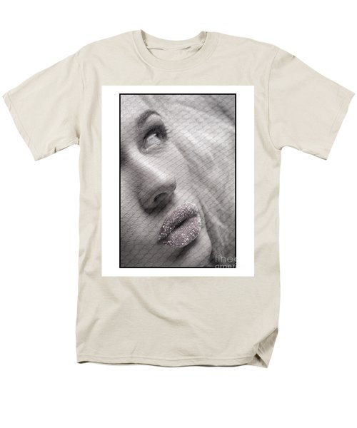 Gorgeous Girl With Sugar On Her Lips Men's T-Shirt  (Regular Fit) by Michael Edwards