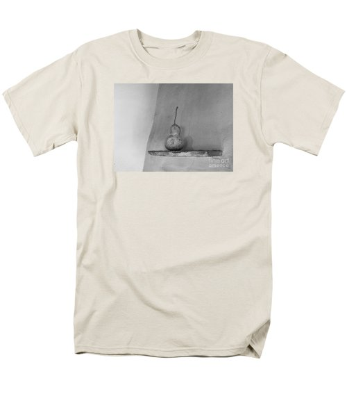 Gourd Black And White Men's T-Shirt  (Regular Fit) by Jeanette French