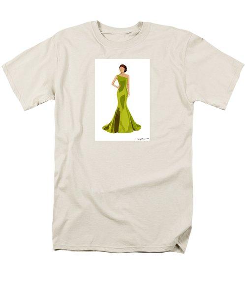 Men's T-Shirt  (Regular Fit) featuring the digital art Grace by Nancy Levan