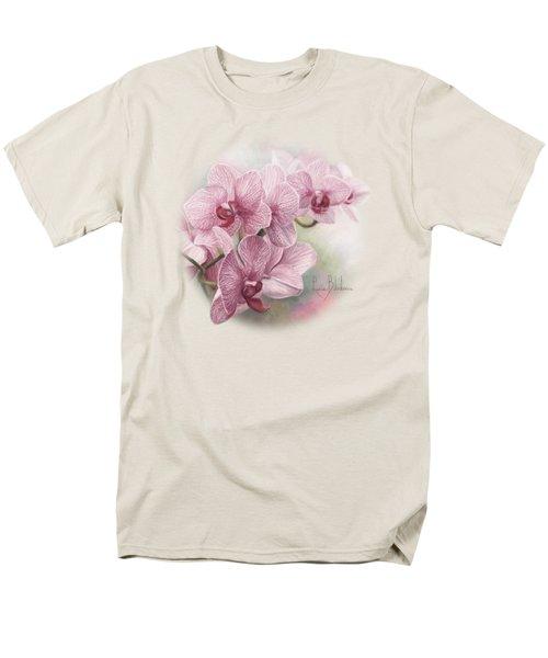 Graceful Orchids Men's T-Shirt  (Regular Fit) by Lucie Bilodeau