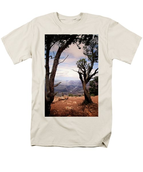 Grand Canyon, Az Men's T-Shirt  (Regular Fit) by James Bethanis