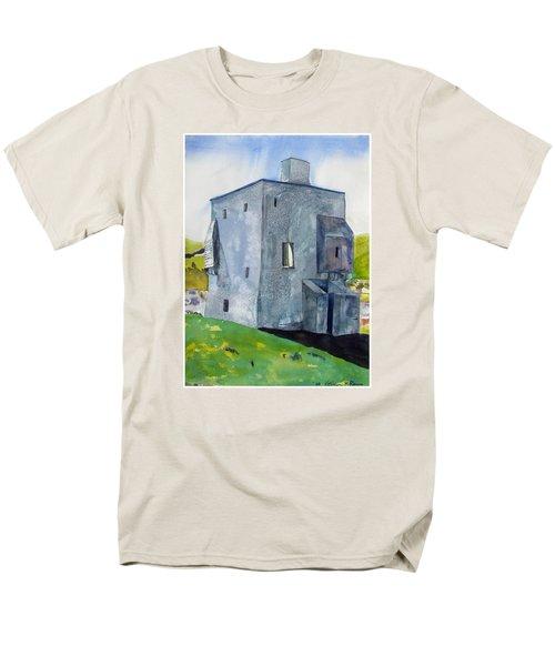 Granuaile's Castle Behind The Hill Men's T-Shirt  (Regular Fit)