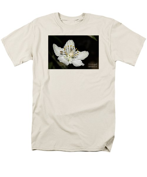 Grass Of Parnassus Men's T-Shirt  (Regular Fit)