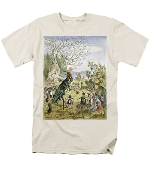 Grasshopper And Ant Men's T-Shirt  (Regular Fit) by Granger