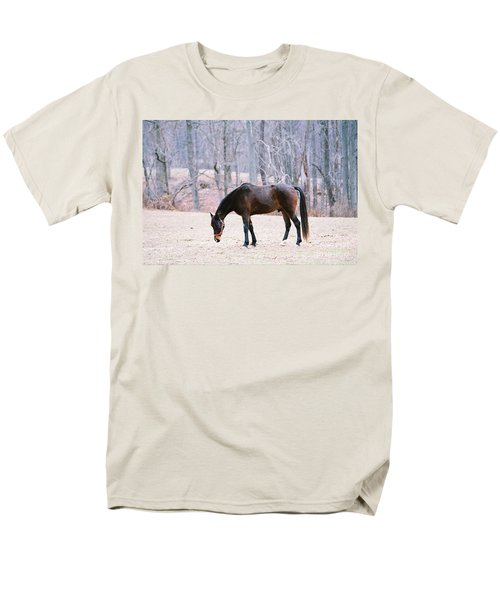 Men's T-Shirt  (Regular Fit) featuring the photograph Grazing by Polly Peacock