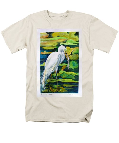 Great Egret Men's T-Shirt  (Regular Fit)