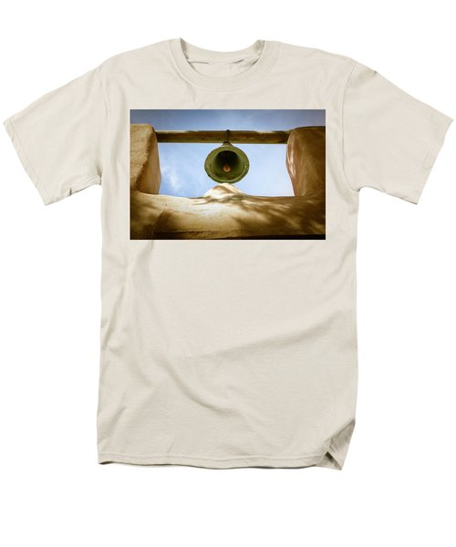 Men's T-Shirt  (Regular Fit) featuring the photograph Green Church Bell by Marilyn Hunt
