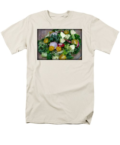 Men's T-Shirt  (Regular Fit) featuring the photograph Green Salad by Adria Trail