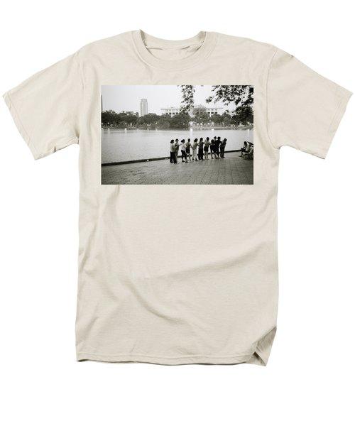 Group Massage Men's T-Shirt  (Regular Fit) by Shaun Higson