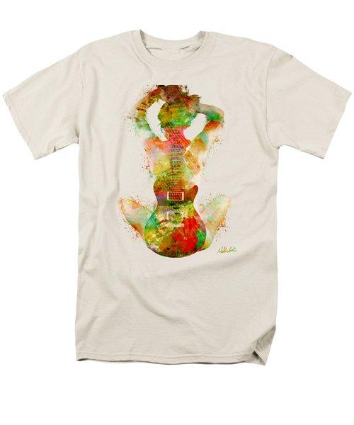 Guitar Siren Men's T-Shirt  (Regular Fit)