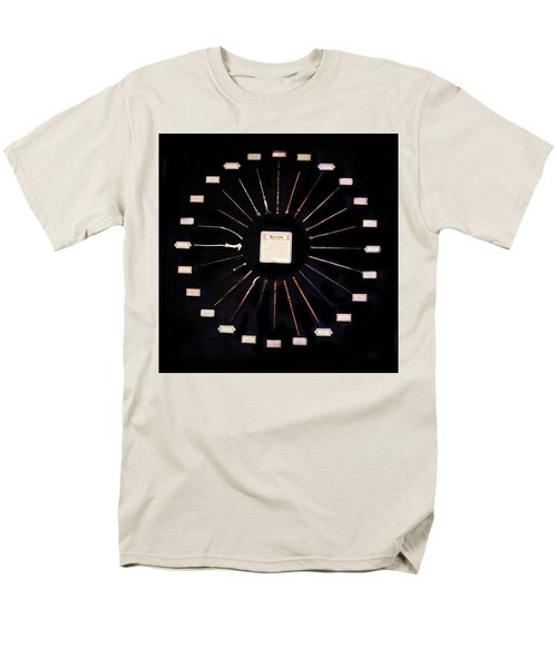 Men's T-Shirt  (Regular Fit) featuring the mixed media Harry Potter Wands by Gina Dsgn