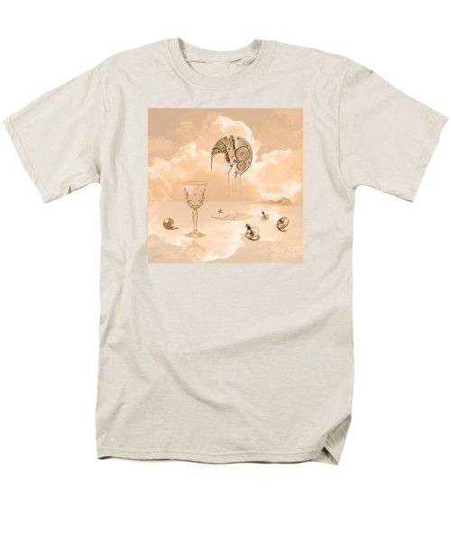 Men's T-Shirt  (Regular Fit) featuring the digital art Beyond Time by Alexa Szlavics