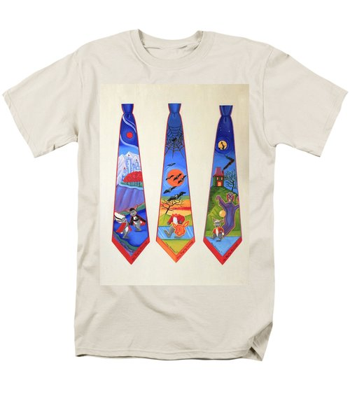 Halloween Ties Men's T-Shirt  (Regular Fit)