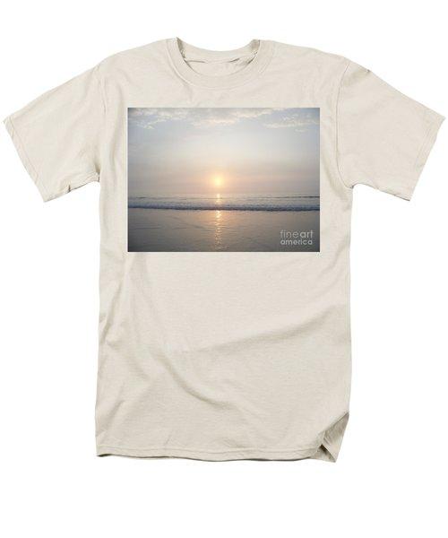 Men's T-Shirt  (Regular Fit) featuring the photograph Hampton Beach Sunrise by Eunice Miller