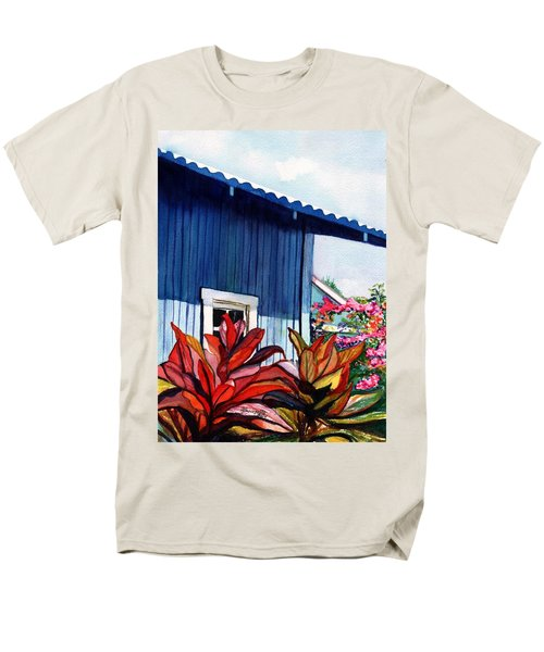 Hanapepe Town Men's T-Shirt  (Regular Fit) by Marionette Taboniar