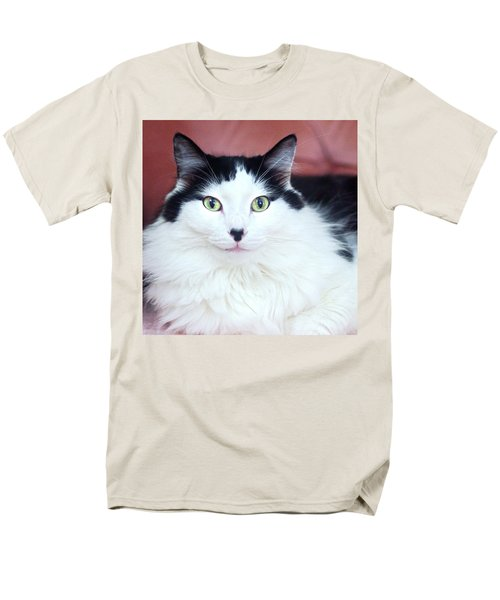 Men's T-Shirt  (Regular Fit) featuring the photograph Handsome Tuxy by Byron Varvarigos