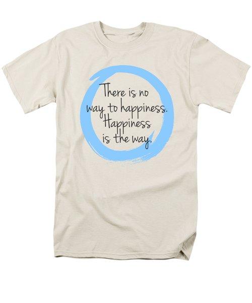 Men's T-Shirt  (Regular Fit) featuring the digital art Happiness by Julie Niemela