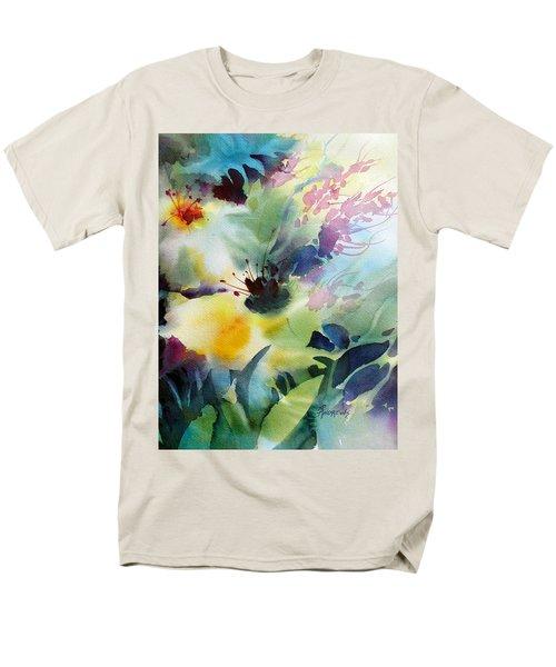 Happy Dance Men's T-Shirt  (Regular Fit)