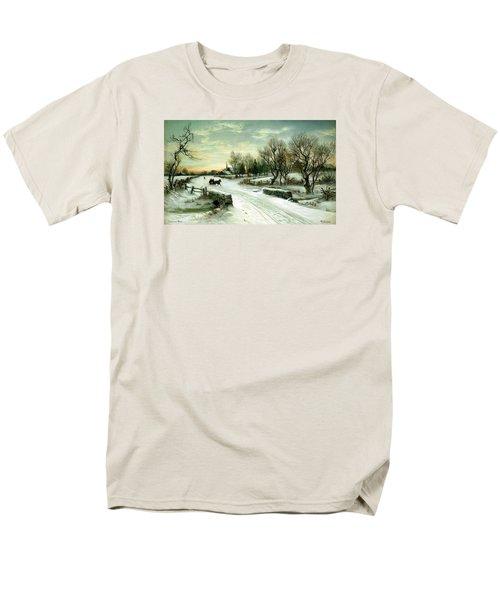 Happy Holidays Men's T-Shirt  (Regular Fit)