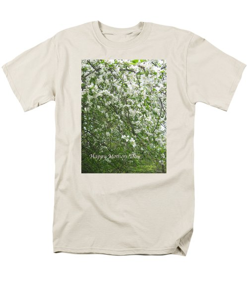 Happy Mothers Day Men's T-Shirt  (Regular Fit) by Deborah Dendler